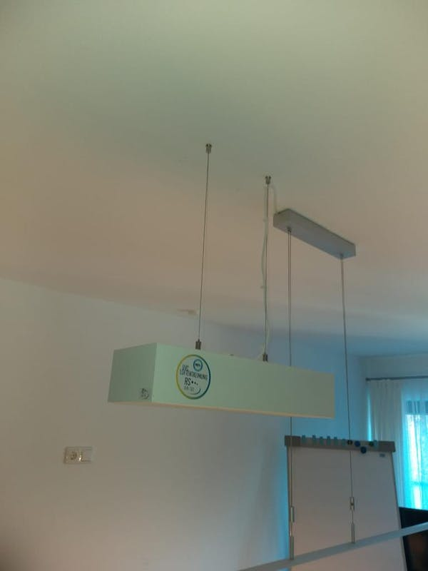RS-Airtec Luftentkeimungsgerät Beispiel