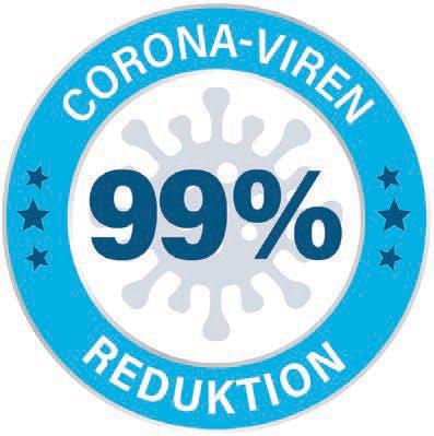 99% Reduktion der Corona-Viren