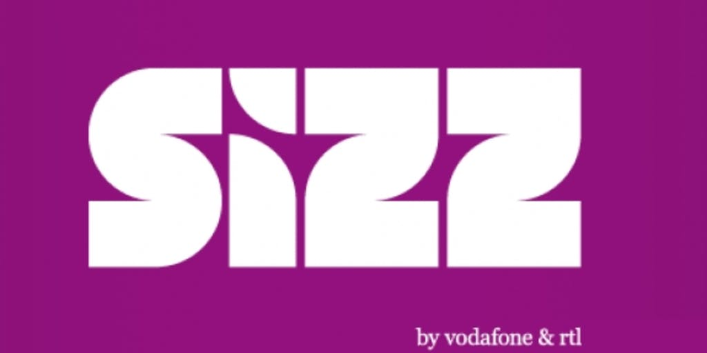 RTL and Vodafone finish collaboration in Sizz