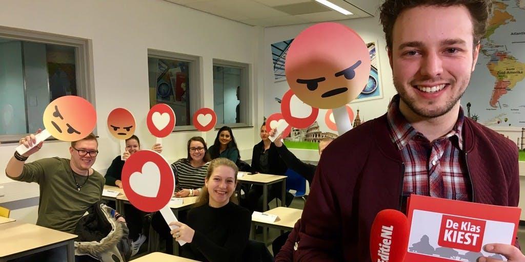 'Editie NL' stort zich in verkiezingsstrijd met De Klas Kiest