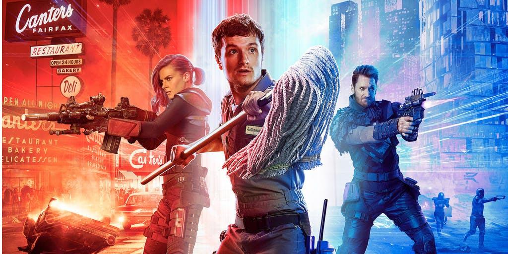 'The Hunger Games'-acteur Josh Hutcherson in actiekomedieserie 'Future Man' van duo Seth Rogen en Evan Goldberg