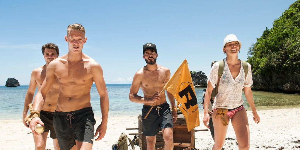 Expeditie Robinson en Teva: Footselfies