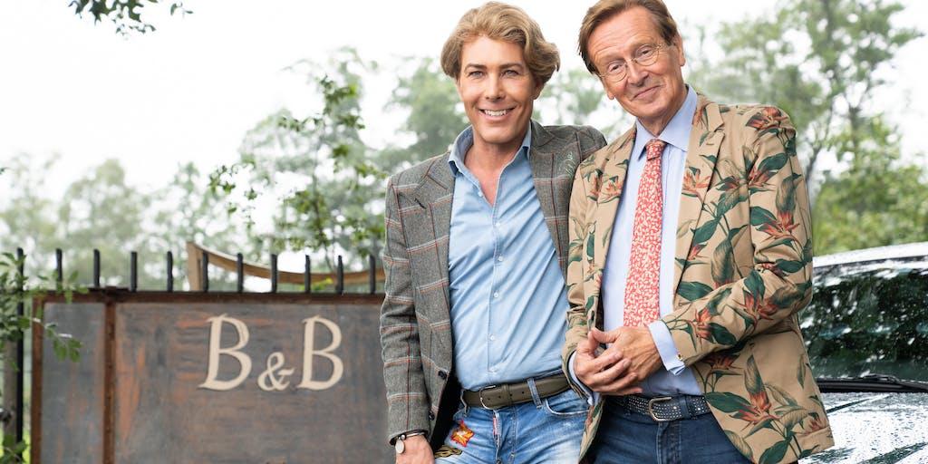 Frank & Rogier helpen noodlijdende B&B's in Frank & Rogier Checken in bij RTL 4