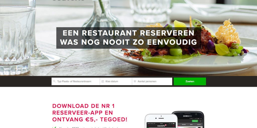 RTL Ventures sells Couverts to IENS, a TripAdvisor Company
