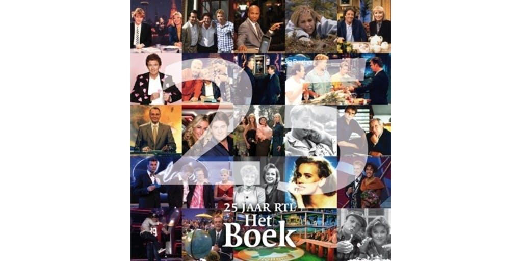 Kwarteeuw lief en leed gebundeld in 25 jaar RTL Het Boek