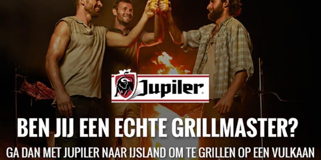 Grillmasters en Jupiler spelen met vuur