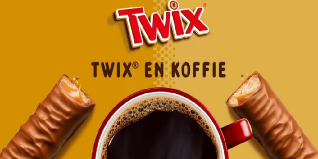 The Mix Up laadt nieuwe associatie TWIX & koffie