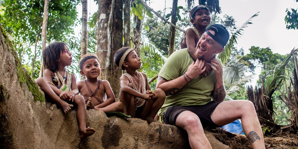 Johnny de Mol op ontdekkingstocht in 'Johnny Into The Wild'