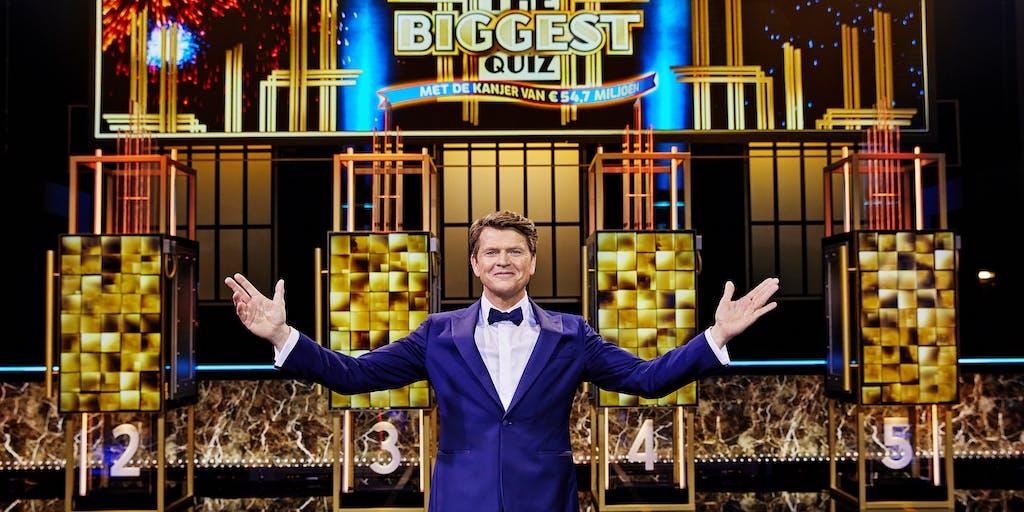Vanavond bij RTL 4: 'Postcode Loterij The Biggest Quiz'