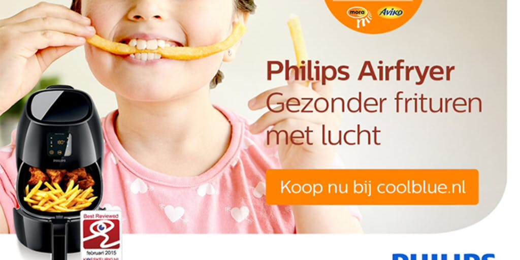 Philips Airfryer en RTL Nieuws Weekend Magazine
