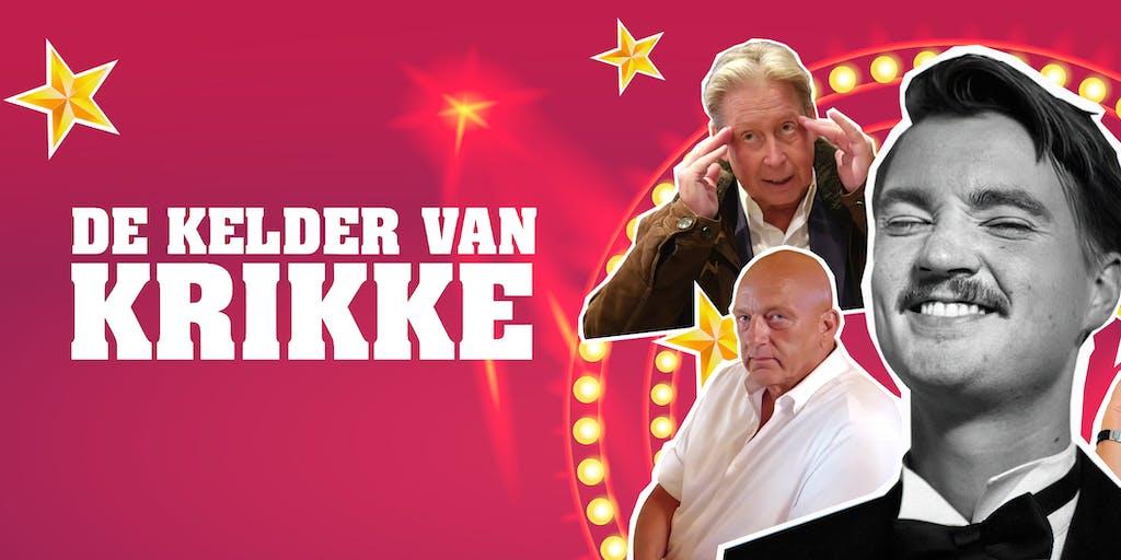 Bram Krikke kondigt 'De Grote Bram Krikke Show' aan