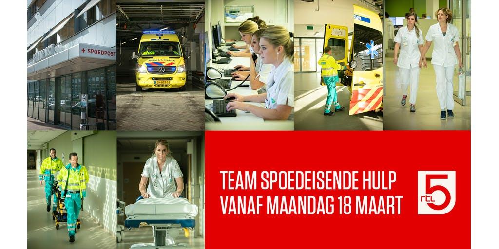 'Team Spoedeisende Hulp' volgt artsen en hulpverleners Eerste Hulp op de voet