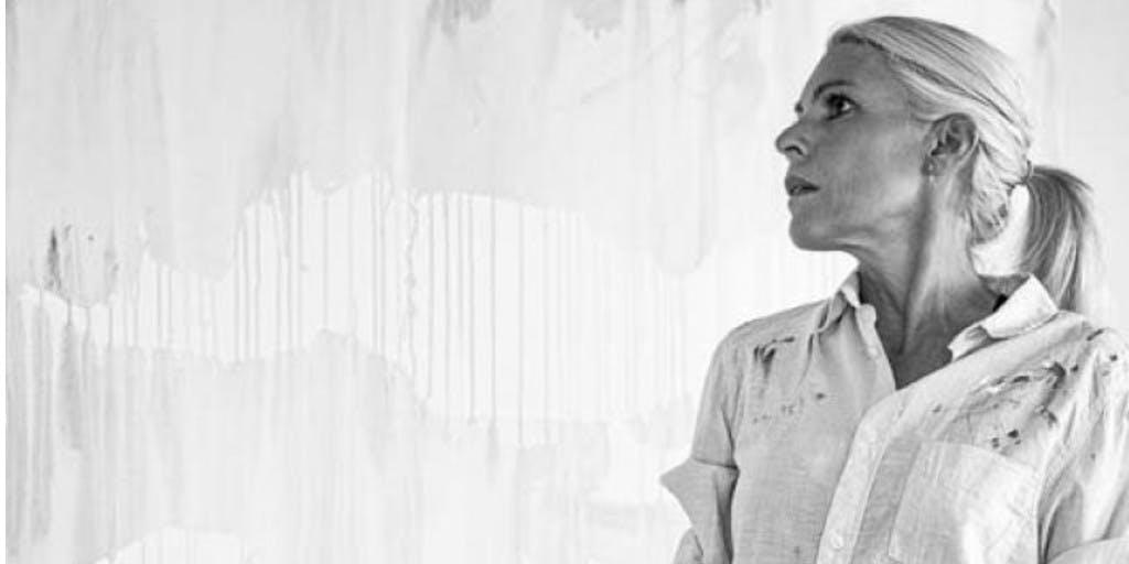 Bijzondere gasten schilderen bij Judith Osborn in 'Iedereen een kunstenaar'