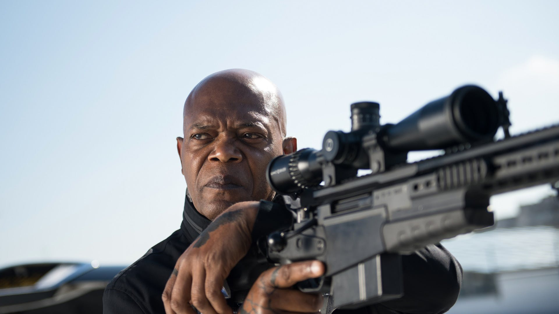 Samuel L. Jackson als Darius Kincaid in 'The Hitman's Bodyguard'