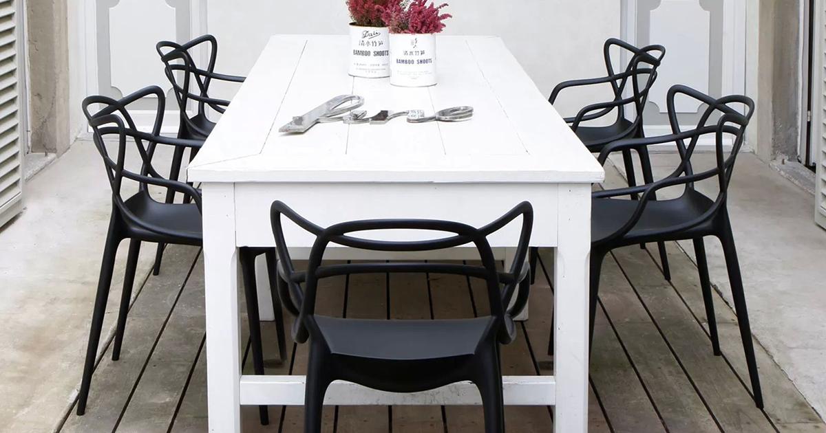 Maui stol, hvit Kartell @ Rum21.no
