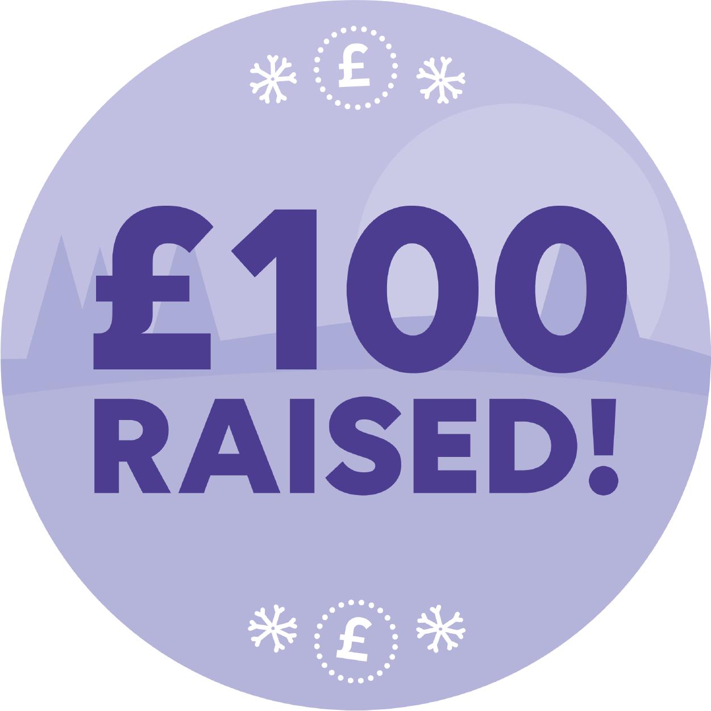 £100 raised!