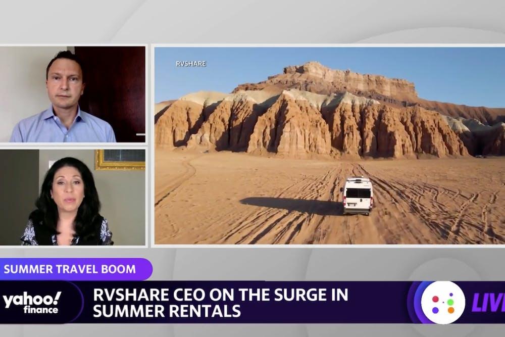 Yahoo! Finance: RV Rentals Surge Heading into Memorial Day Weekend