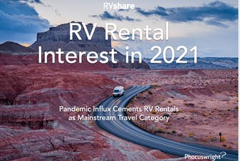RV Rental Interest in 2021: Pandemic Influx Cements RV Rentals as Mainstream Travel Category