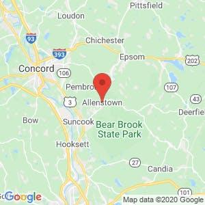 Allenstown map