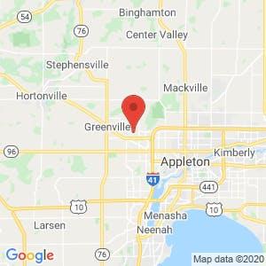 Appleton Area Storage map