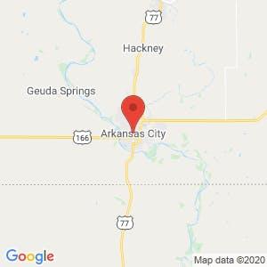 Arkansas City map