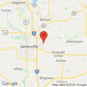B & J Storage map