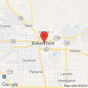 Bakersfield map