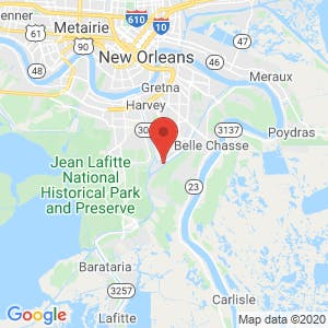 Belle Chasse Boat & RV Storage map
