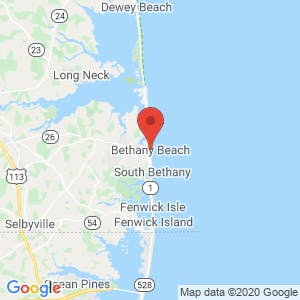 Bethany Beach map
