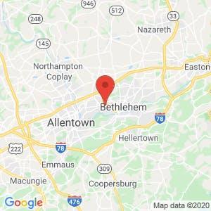 Bethlehem Township Self Storage map