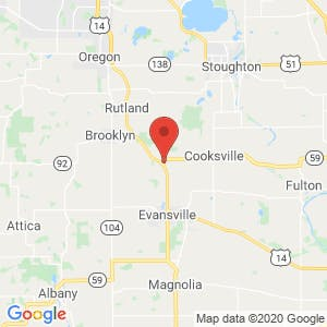 Big Barn Storage map