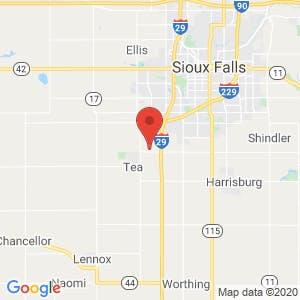 Blue Door RV & Self Storage LLC map