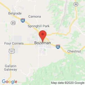 Bozeman map