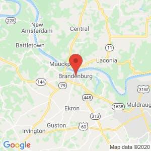 Bradenburg map