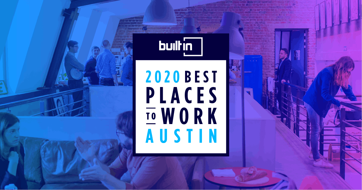 RVshare is Honored in Built In Austin's Prestigious Best Small Companies to Work for List in 2020