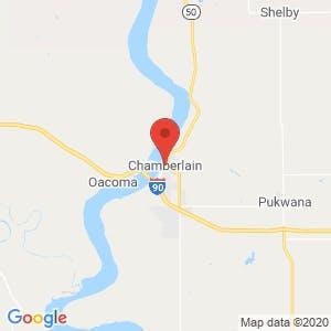 Chamberlain map