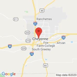 Cheyenne map