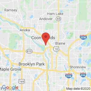 Coon Rapids Storage map