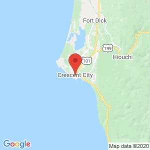 Crescent City map