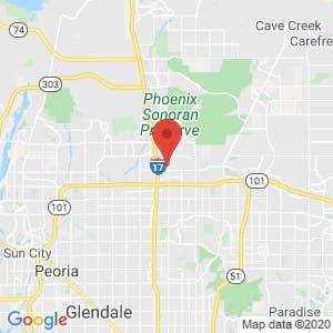 Deer Valley Mini & RV Storage Phoenix map