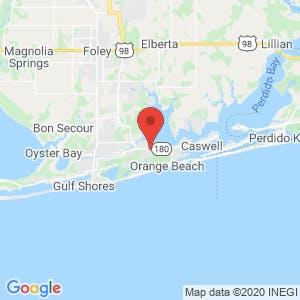 East 180 U-Stor-It map