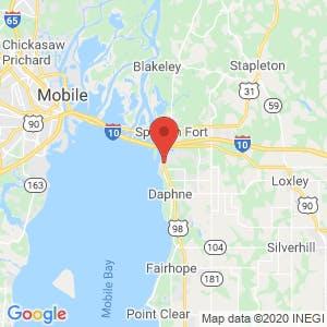 East Bay Mini Storage map
