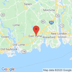 East Lyme map
