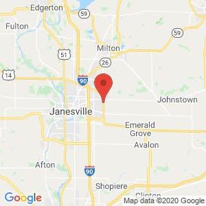 Eastside Storage of Janesville map
