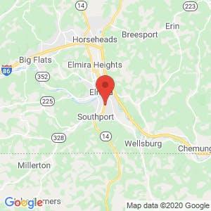 Elmira Mini Storage map