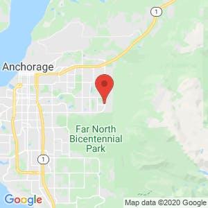 Foothills Self Storage map