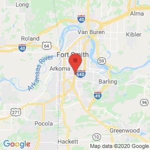 Fort Knox Self Storage map