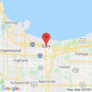 Gary map