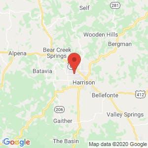 Goblin Drive Self Storage map