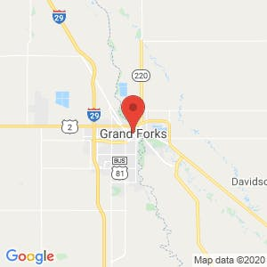 Grand Forks map